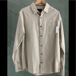 NWT Kolby Button up Long sleeve shirt Men's
